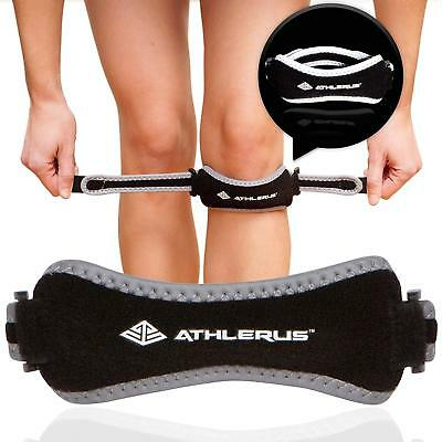 Reflective Patella Tendon Running Support Strap Brace Below Knee Pain Relief