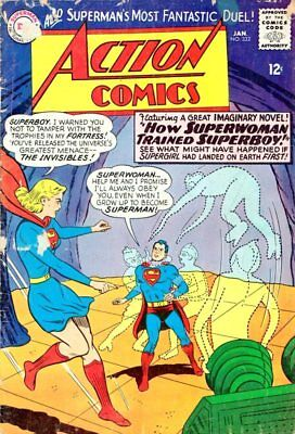 Action Comics #332  Superman 1965 Silver Age Key Issue-NO RESERVE