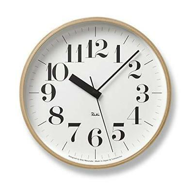 Lemnos RIKI CLOCK WR07-11 Wall Clock Japan +Tracking Number