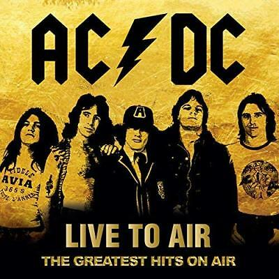 Ac/dc-Liive To Air - The Greatest Hits On Air-Import 2 Cd With Japan Obi
