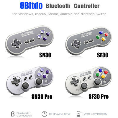 SN30 Pro SF30 Pro 8Bitdo Bluetooth Controller Gamepad w/ Joystick for Android PC