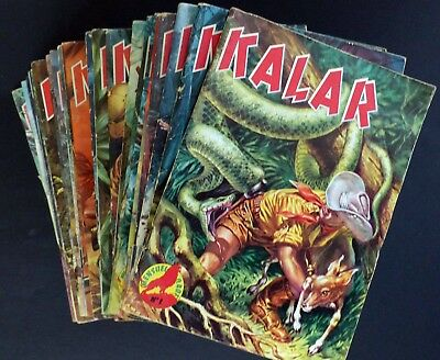 Lot Kalar 1-29 Run Imperia 1963-66 (Missing #8) Very Good Condition Heavy Pack