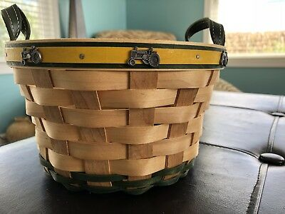 Longaberger Limited Edition John Deere  Basket 2007. Great Condition!