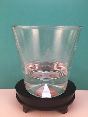"""Lot of 3 JOHNNIE WALKER WHISKY Glasses """"Our Blend Cannot  Be Beat"""" 10 oz."""