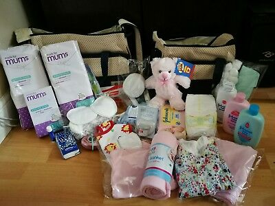 Luxury Pre-packed maternity/hospital bag/changing bag