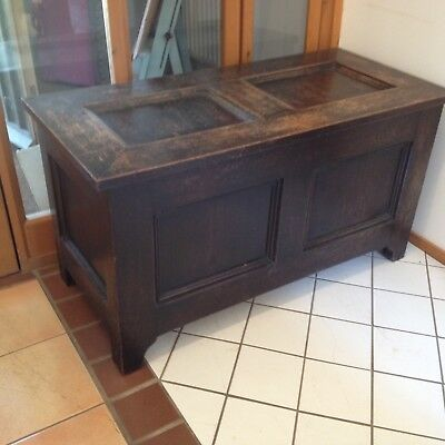 Solid Oak Coffer/chest