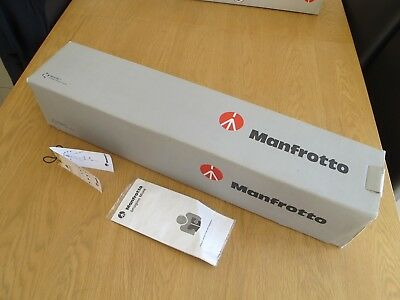 Manfrotto Pro Tripod 055Xprob Empty Box Excellent Condition + Sealed Manual +Tag