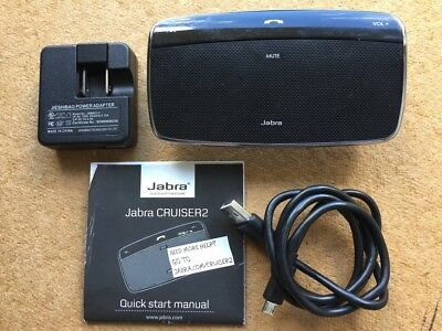 Jabra Cruiser 2 Bluetooth In-Car Wireless Speakerphone