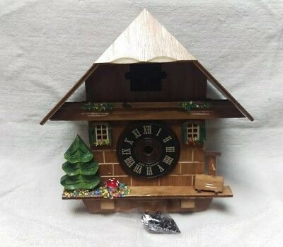 German Black Forest Quartz chalet style cuckoo clock CASE ONLY for parts