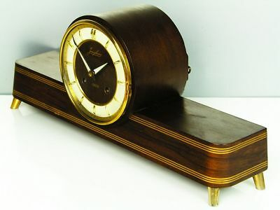 A Dream Later Art Deco  Junghans  Chiming Mantel Clock From 50´s Resonanz