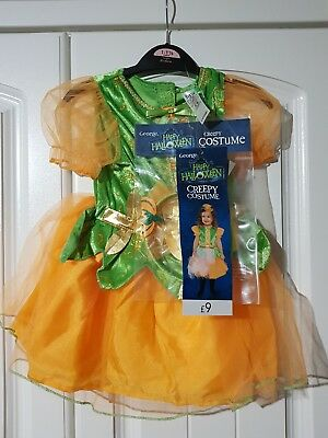GEORGE Baby Girls 12-18 Months HALLOWEEN OUTFIT New With Tags (A475)