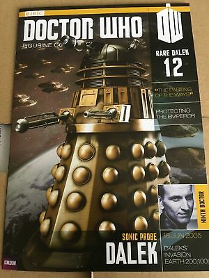 Doctor Who Figurine Collection Rare Dalek 12 Magazine Only