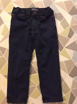 Polo Ralph Lauren Boy's Blue Chino Jeans Age 3 Years