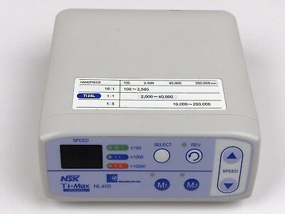 NSK Brasseler Ti-Max NL400  Dental Electric Motor Control Console Only
