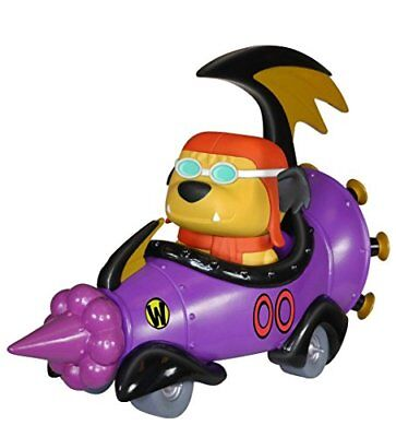 POP Rides: Wacky Racers - Hanna Barbera Mean Machine with Goggled Muttley POP
