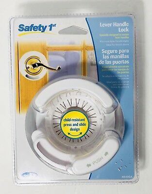 Safety 1st French Door Lever Lock Handle Baby Proof Child Lock, B1