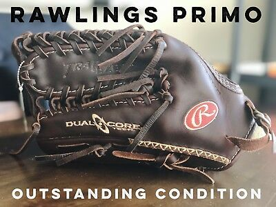 "Rare Rawlings Primo Prm1275 12.75"" Lht Baseball Softball Glove Outstanding Cond"