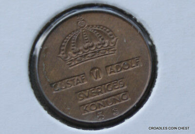 1961 Netherlands Uncirculated 1 Ore  World Coin #Jld10