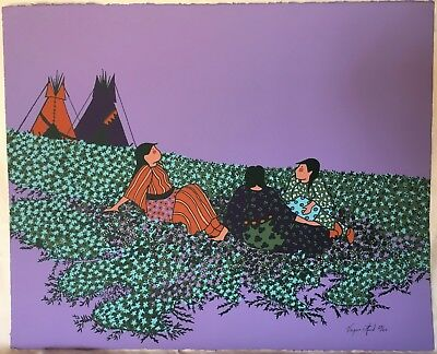 Virginia Stroud Original Lithograph Signed and Numbered.