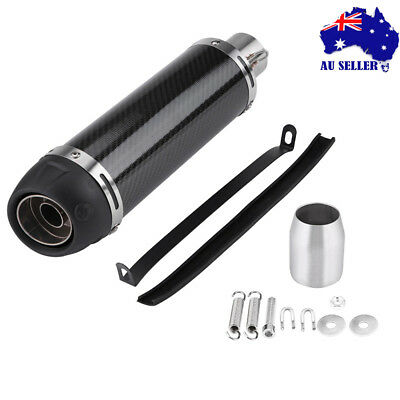Universal Motorcycle Exhaust Muffler Pipe Removable DB Killer Slip on 51mm AU