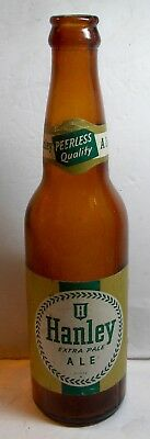 1950's James HANLEY EXTRA PALE ALE 12 oz Beer Bar Bottle Duraglas Providence RI
