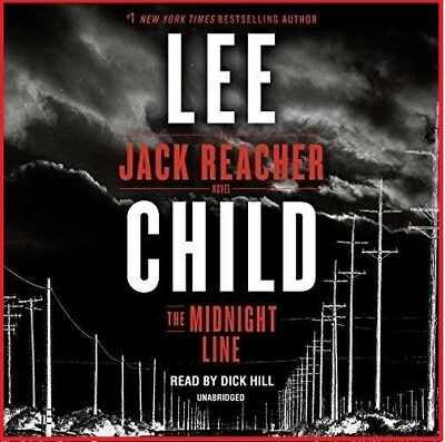 The Midnight Line; A Jack Reacher Novel by Lee Child (audio book)
