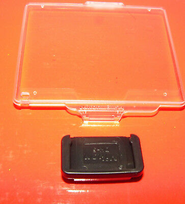Genuine Nikon BM-14 Screen Protector for D600 + Nikon DK-5 Eyepiece cover