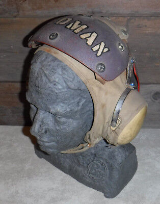 Vintage Original 1974 Vietnam War Flight Crew Deck Helmet Made In Usa L@@k