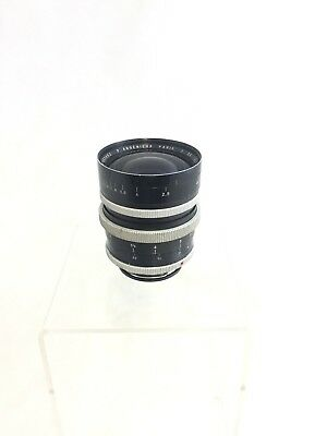 Vintage P. Angenieux Type R1 Retrofocus 35mm F/2.5 EXA Exacta Bayonet Mount