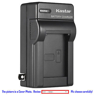 Kastar Battery AC Wall Charger for Sony OEM NP-FW50 & Genuine BC-VW1 BC-TRW
