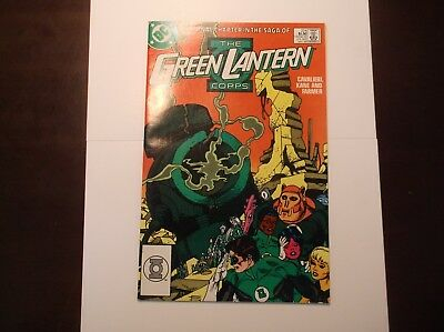 The Green Lantern Corps #224 Nay 1988 Nm- Near Mint 9.2 9.4 Last Final Issue