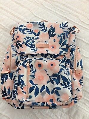 NEW Jujube Whimsical Watercolor Be Sporty Backpack Bookbag Floral WW