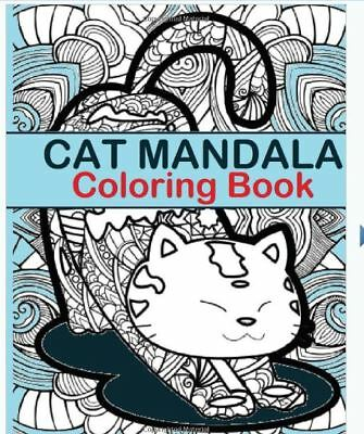 Cat Mandala Coloring Book: Cat Mandala Coloring Book Paperback r