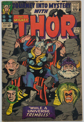 Journey Into Mystery #123 + Thor #183, #191-195, #199 (Lot of 8)