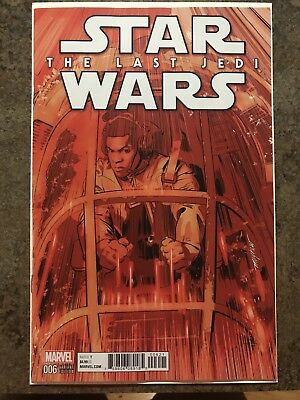 Star Wars The Last Jedi #6! Mayhew Variant! 1:25 Sold Out. Hot Book!