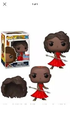 Pop! Marvel Black Panther Okoye in Red Dress NYCC 2018 Shared Exclusive Preorder