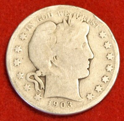 1903-P 50C Barber Half Dollar G Beautiful Coin Check Out Store Bh513