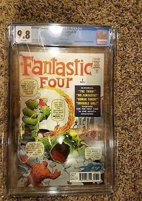 CGC 9.8 White Pages Monsters Unleashed #7 Lenticular Cover Fantastic Four