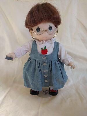 Precious Moments Teacher Doll with Stand