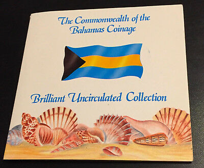 Commonwealth Of The Bahamas Coinage Brilliant Uncirculated Collection
