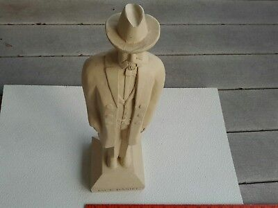 Jack Daniels Whiskey Statue Carved Wood? 18 Inches Tall Bar Man Cave