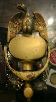 vintage brass eagle door knocker