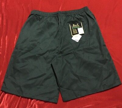 Bnwt Authentic B & L Designer Shorts Unisex Boy Girl School Uniform Sz 22 Green