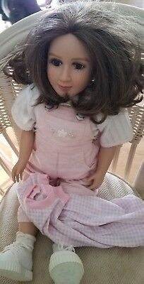 My Twin Doll With Hazel Eyes And Brown Hair Very Pretty!