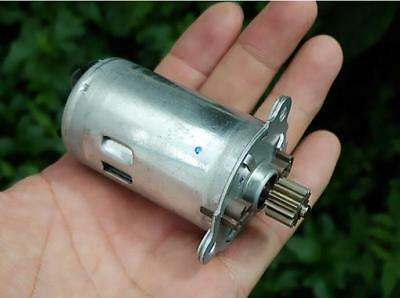 DC12V High torque motor 7-pole rotor Auto Parts Compensated carbon brush