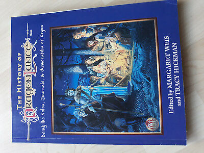 AD&D 2nd The History of Dragonlance Saga by Margaret Weis and Tracy Hickmann TSR