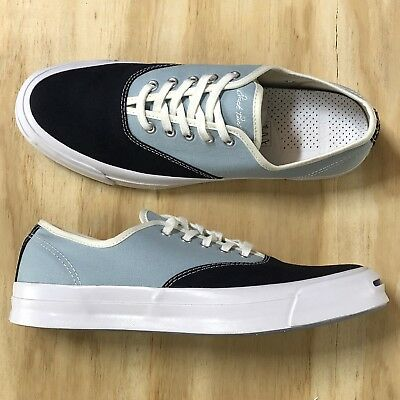 b4cba1b797dc Converse Jack Purcell Signature CVO Ox Blue White Casual Low Top  151455C   Sz 10