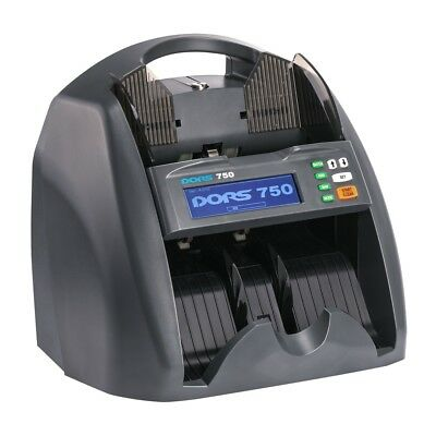 DORS 750 Money Counter Multicurrency Note Counting Machine Compact Cash Counter