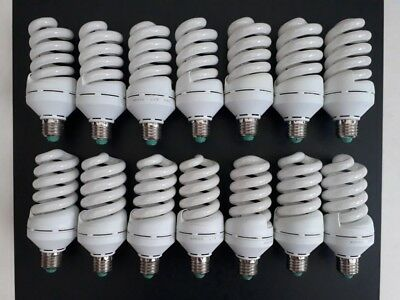 14 x 36W E27 ES Daylight 5500K Studio Photography Lighting Light Bulbs