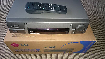 LG BC909P Videorecorder VHS Recorder Videorekorder 6 Head Long Play Show view